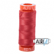 Aurifil 50 Cotton Thread - 2255 (Dark Red Orange)